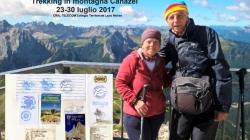 Trekking in montagna: Canazei