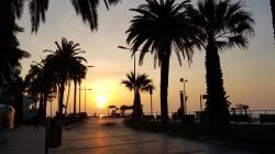 L'alba a Loano
