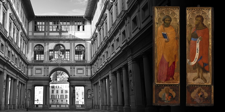 Firenze: il restauro di San Pietro e San Giovanni Battista