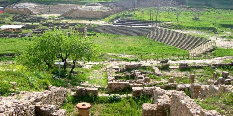 La Villa del Casale e l' Area Archeologica di Morgantina