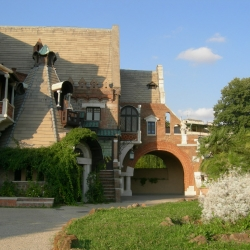La casina delle Civette di Villa Torlonia