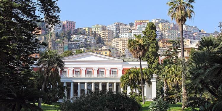Il museo di Villa Pignatelli