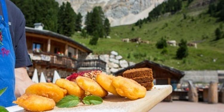 Il giro delle dolci tentazioni sulle Dolomiti