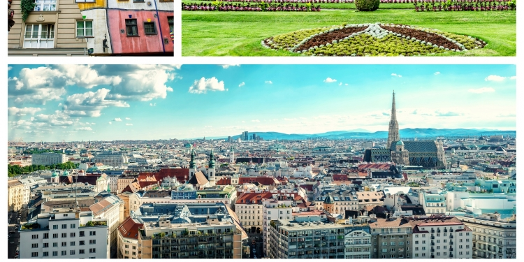 Vienna centro d'Europa