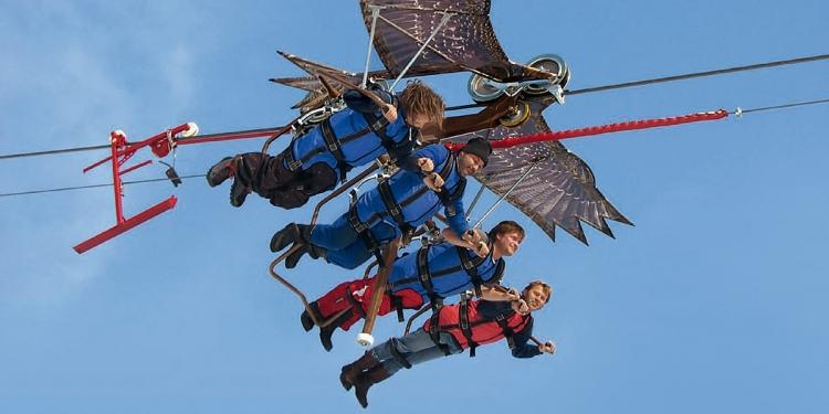 Vacanze in Tirolo: volare come aquile e arrampicarsi sulle case appese sugli alberi