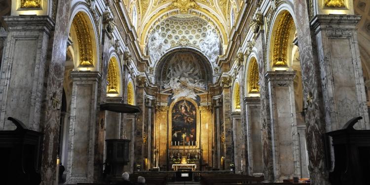 """Itinerari Romani: """"La Chiesa di S. Luigi dei Francesi e La Basilica dei Santi Cosma E Damiano"""""""