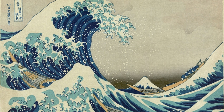 Hokusai, Hiroshige,Utamaro
