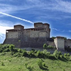 I castelli di Torrechiara e Varano De' Melegari