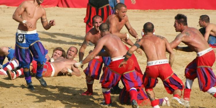 Il libro del Calcio Storico Fiorentino di Artusi