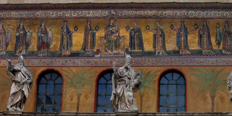 Roma: Santa Maria in Trastevere e area archeologica del Circo Massimo