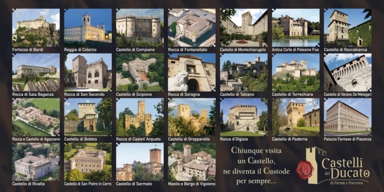 """Castelli del Ducato lancia """"I Luoghi Ambasciatori"""""""