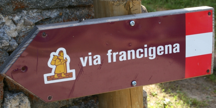 La Via Francigena in treno