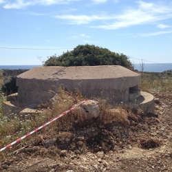 Sardegna:bunker trasformati in b&b