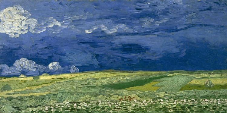 """Van Gogh """"Tra il grano e il cielo"""""""