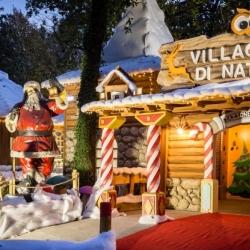 Il villaggio di Natale al Luneur