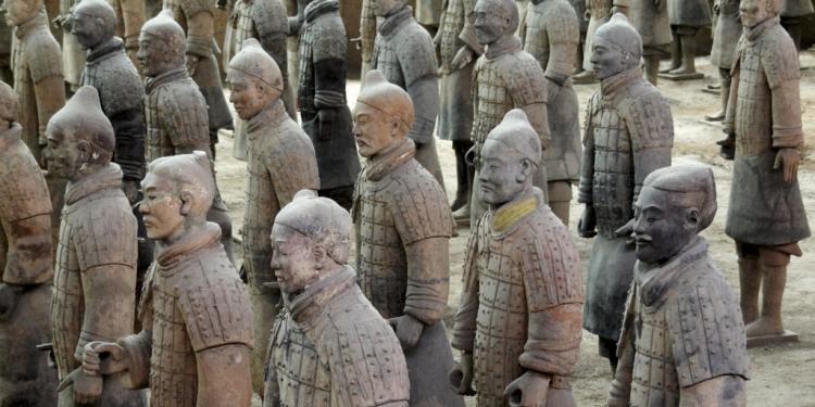 Napoli: in mostra l'Esercito di Terracotta