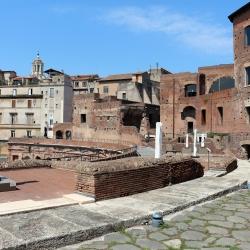"""I mercati di traianoe la mostra """"Traiano: Costruire l'impero, creare l'europa"""""""