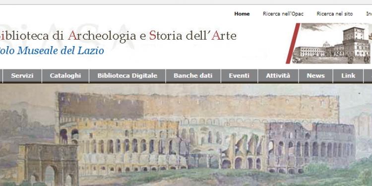 Roma: la Biblioteca Nazionale di Archeologia a Palazzo San Felice