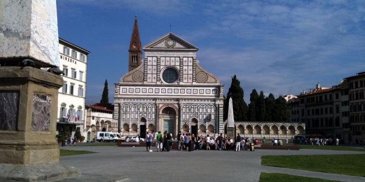 Firenze: La Basilica e il Convento di S.M. Novella