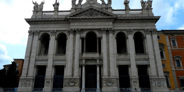 Roma:la Basilica di San Giovanni in Laterano