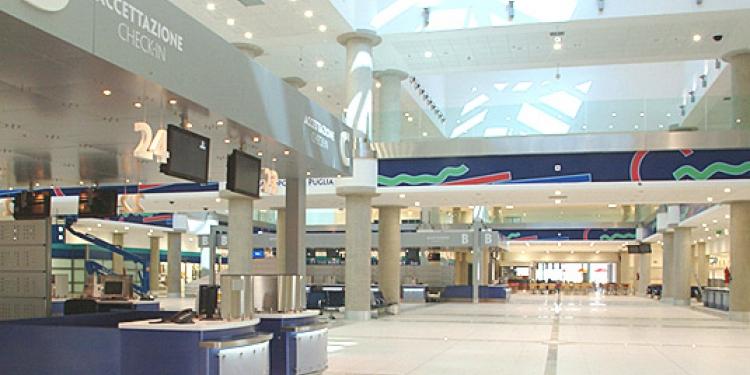 Il miglior aereoporto d'Italia è quello di Bari