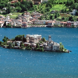 Al lago d'Orta e isola di San Giulio