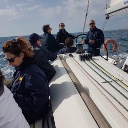 Una magnifica giornata in mare1