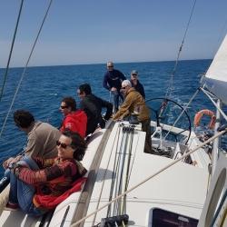 Una magnifica giornata in mare