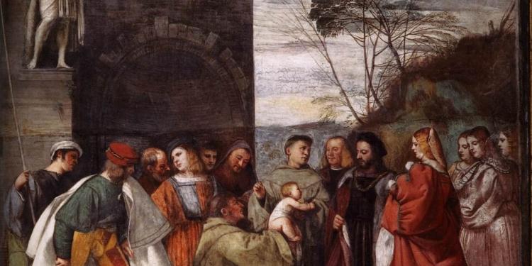 Tiziano, la pittura del '500 tra Venezia e Brescia