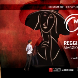 Caserta: mostra multimediale su Modigliani