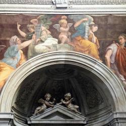 Sulle orme di Caravaggio e di Raffaello a Roma