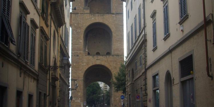 A spasso nel quartiere di San Niccolo' a Firenze