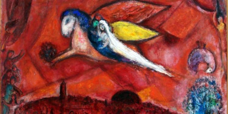 Chagall, colore e magia