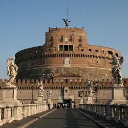 Roma, visitando Castel S.Angelo