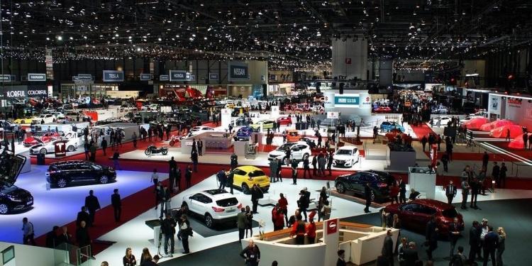 Al salone internazionale dell'auto di Ginevra