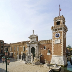 Visita dell'Arsenale di Venezia
