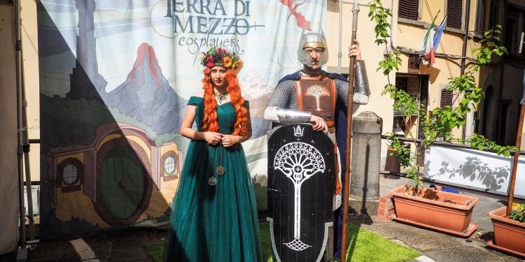 La Fortezza Medicea di Arezzo ospita la magia del Chimera Comix