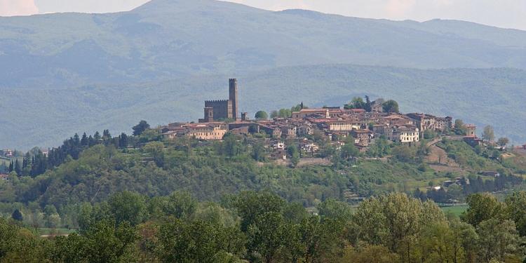 Firenze, Poppi e Arezzo