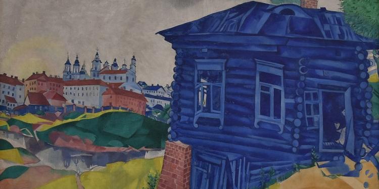 Giacometti, Chagall, Kandisky
