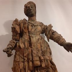 La statua della Beata Vergine della Salute #IoRestoaCasa