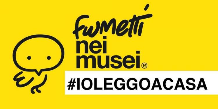 Prosegue la campagna #ioleggoacasa con fumetti nei musei