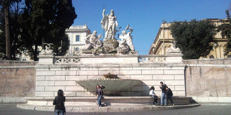 Roma:  il Rione Campo Marzio