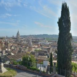 Il Colle Pincio e Villa Borghese