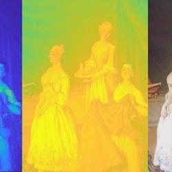 MUVE: Analisi spettrogrfiche per otto dipinti del '700