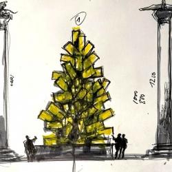 Un 'Natale Digitale' illumina d'arte Piazza San Marco
