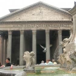 Il Rione Pigna e il Pantheon