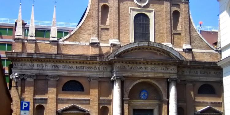 La chiesa di Santa Maria dell'Orto in Trastevere