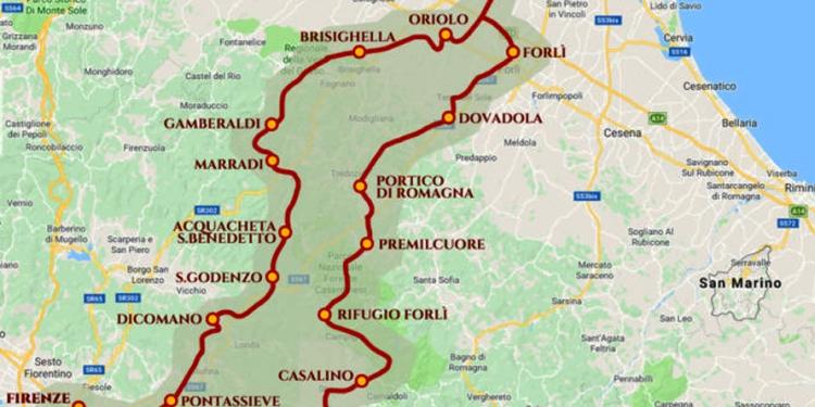 'Vie Di Dante' Tra Firenze E Ravenna