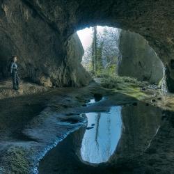 Antichi abitatori delle grotte in Friuli