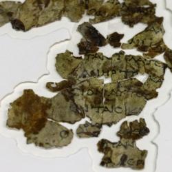 In Israele trovati frammenti di un rotolo biblico di duemila anni fa